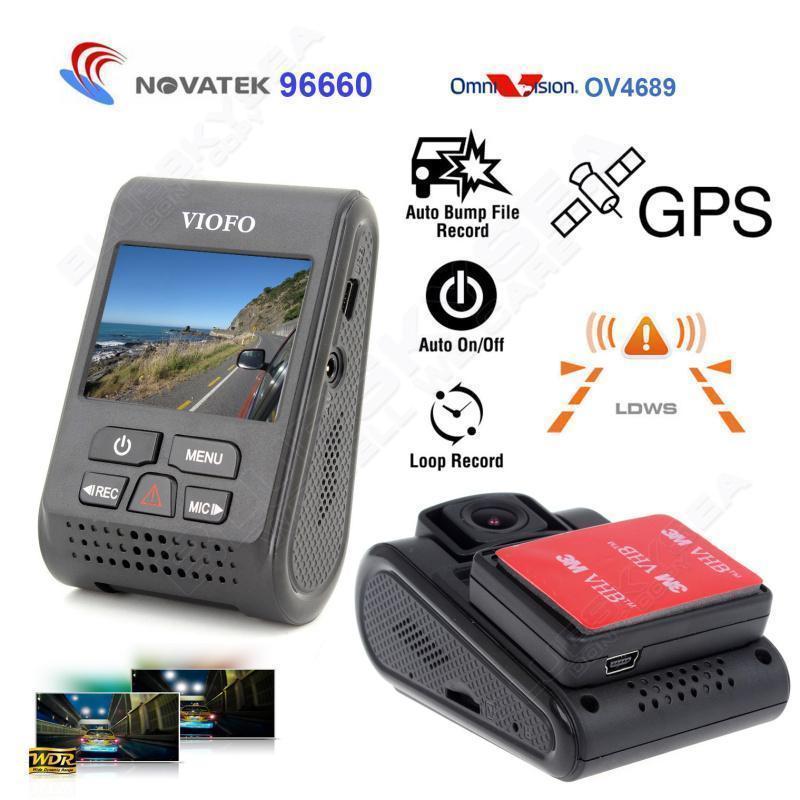 Dash Camera: VIOFO Advanced A119 V2 + GPS module - $78.20