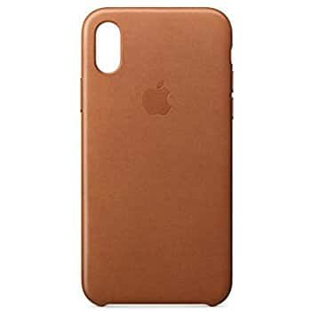 Apple iPhone X Leather Case - Saddle Brown 39.99
