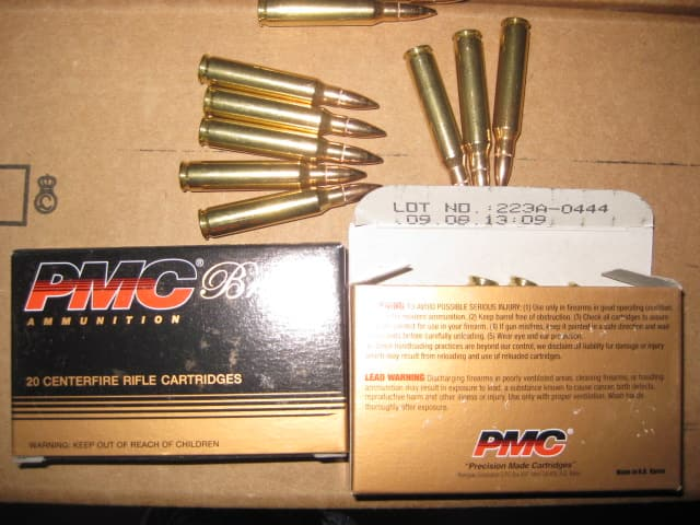 Ammo Deal: 1000 rounds of PMC Bronze .223 for $299.95 + $16 for shipping