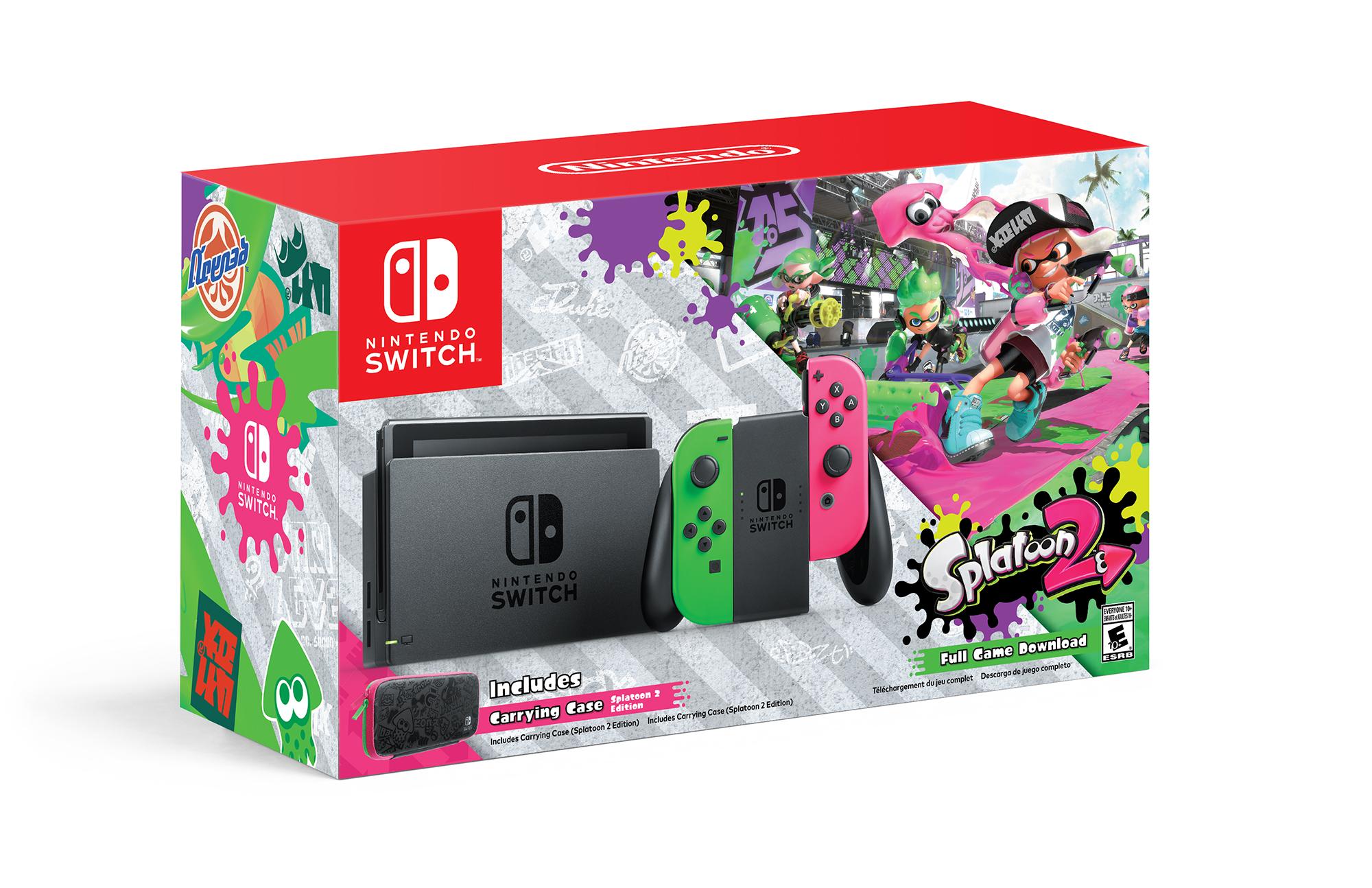 Nintendo Switch Splatoon 2 Bundle $379