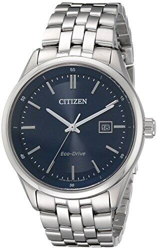 Citizen Eco-Drive Men's Stainless Steel Corso Watch [Silver] $117.99