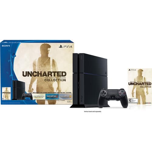 Sony PlayStation 4 Uncharted: The Nathan Drake Collection Bundle 299.99 Free shipping no tax in CA