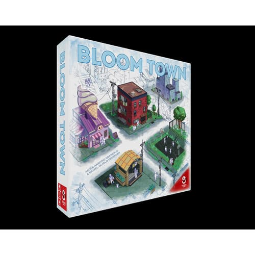 Walmart -Bloom Town Strategy Board Game by Sidekick Games | Allow your town to prosper and grow in Bloom Town $8.99