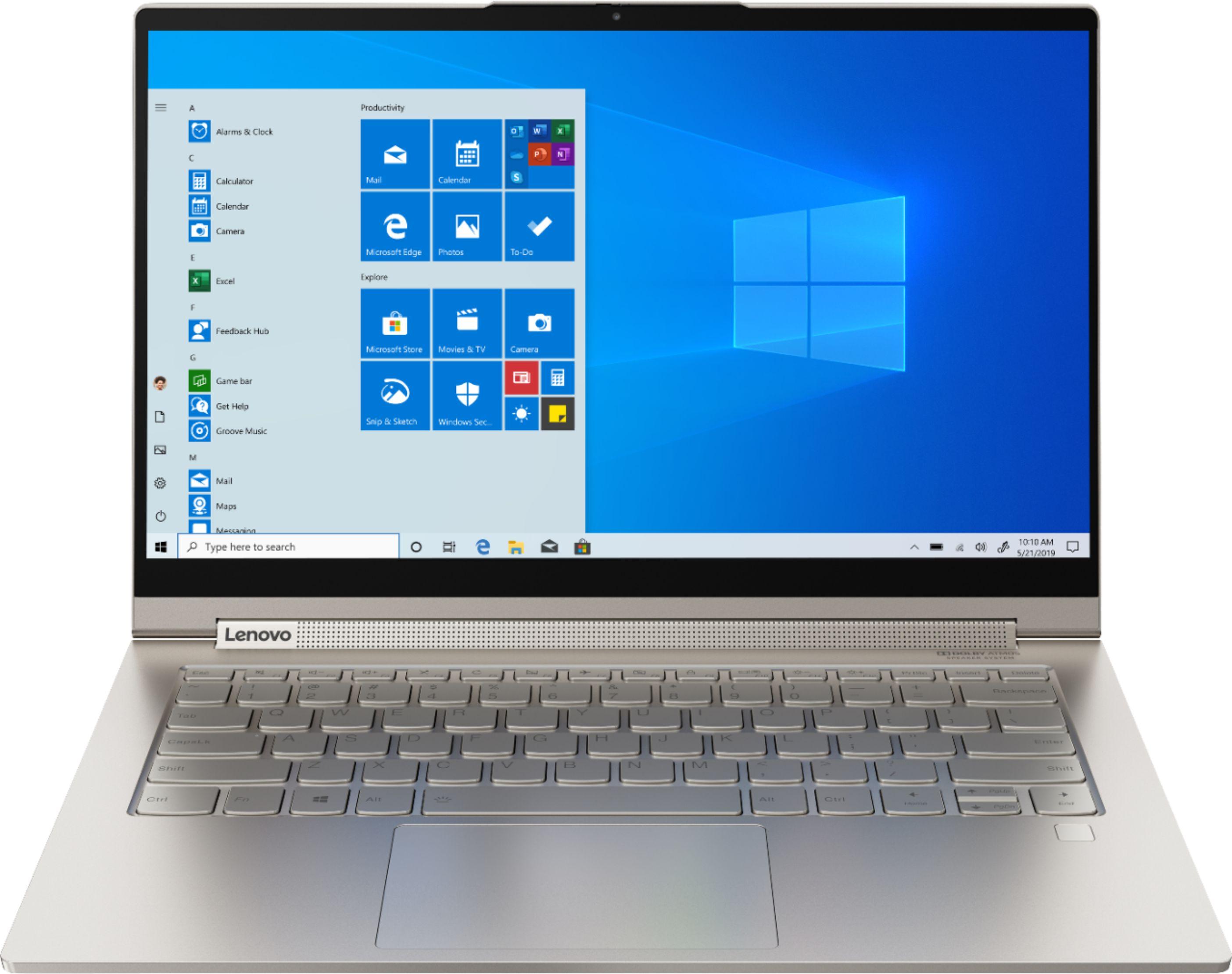 "Lenovo Yoga C940 4K UHD TS Laptop: i7 1065G7, 14"", 512GB PCIe SSD, 16GB RAM"