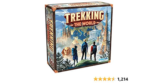 Trekking The World: The Globetrotting Board Game Your Friends and Family Will Instantly Love - $42.49