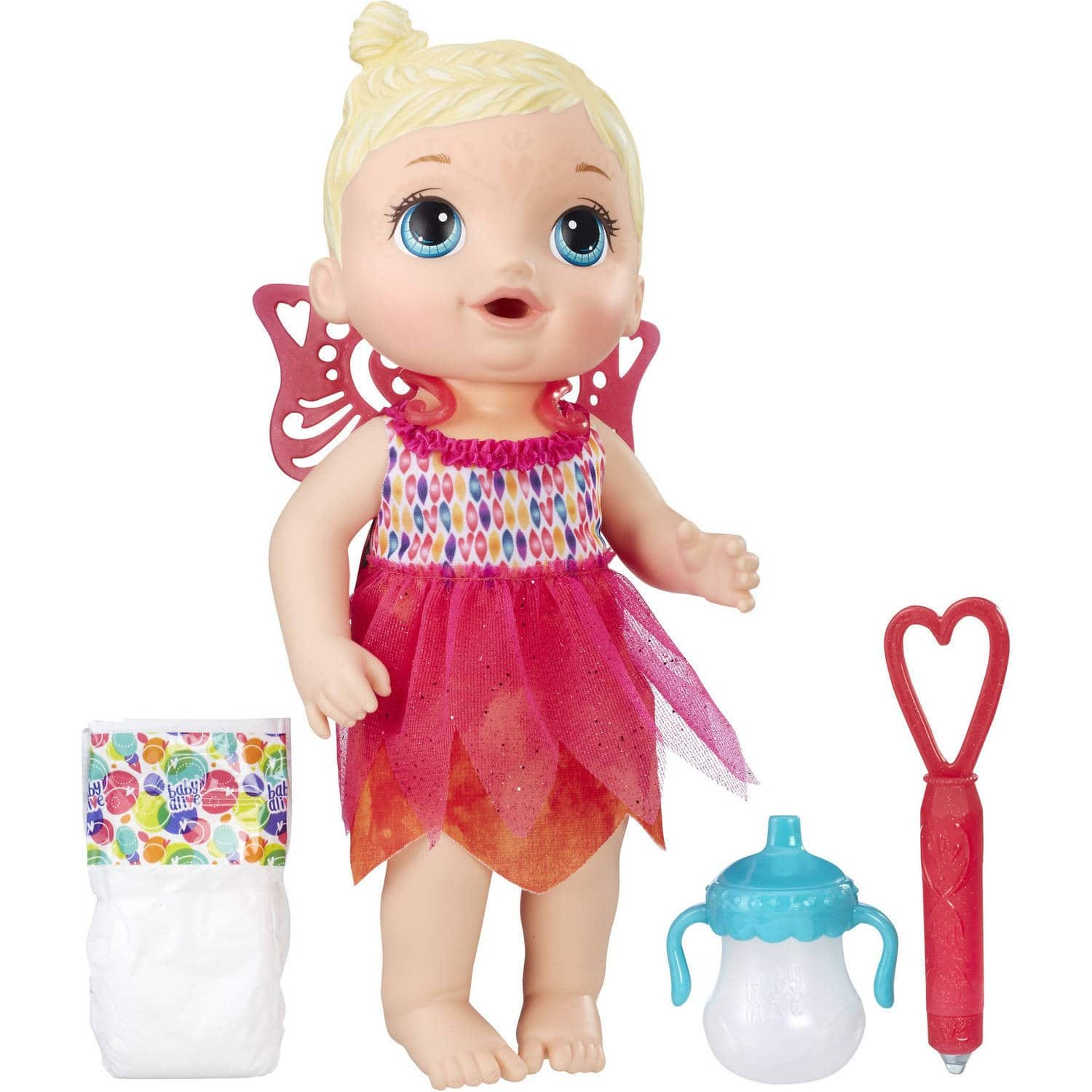 Baby Alive Face Paint Fairy $7.99 Walmart