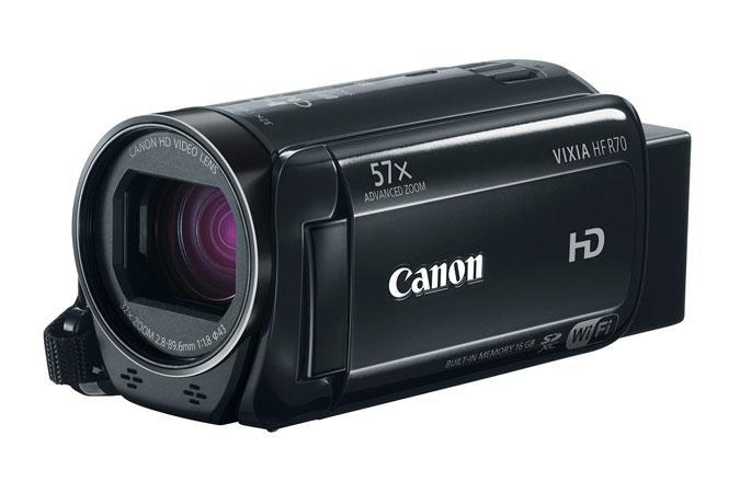 Canon VIXIA HF R70 Full HD Camcorder Refurbished. FS $120 + tax