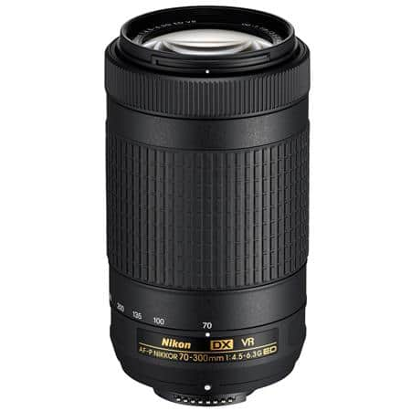 Nikon AF-P DX NIKKOR 70-300mm f/4.5-6.3G ED VR Lens - Refurbished $145 + FS