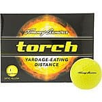 TOMMY ARMOUR Torch Optic Yellow Golf Balls - 12-Pack - $5.98 FS