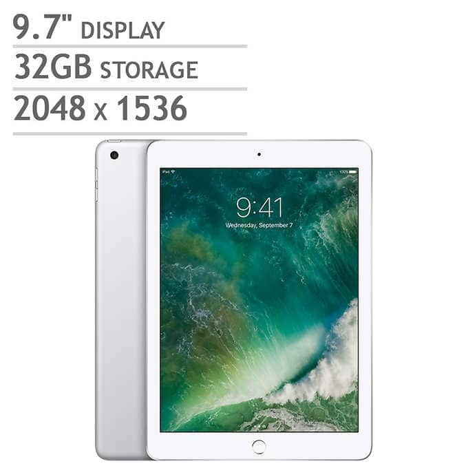 Apple iPad 32gb WiFi only silver - in store $220