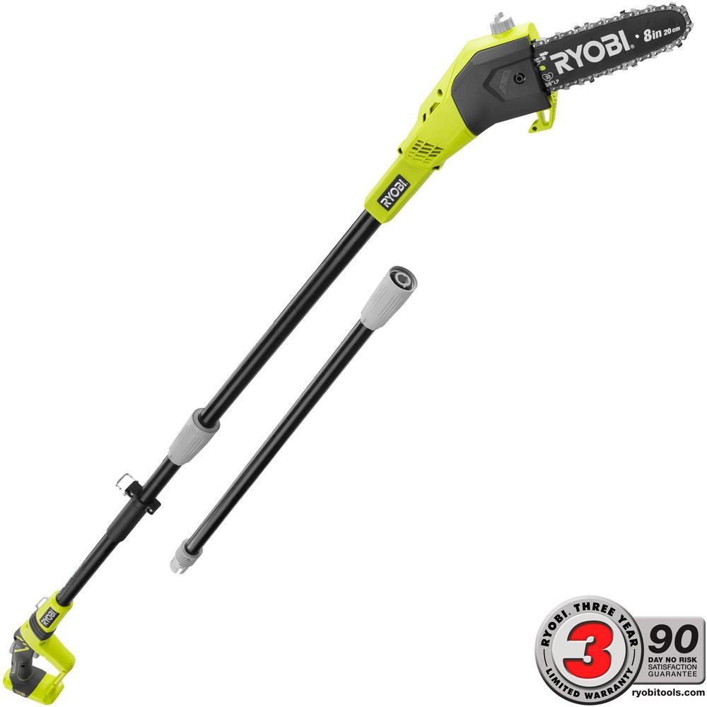 YMMV Ryobi Pole Saw 2 battery Kit $79