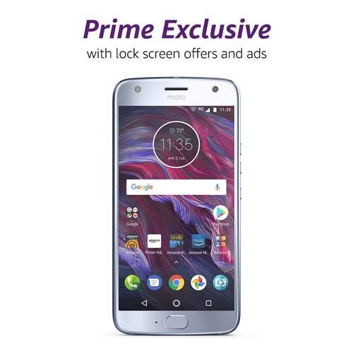 Moto X4  - with Amazon Alexa - $279.99 – 32 GB - Unlocked – Sterling Blue OR Super Black colors