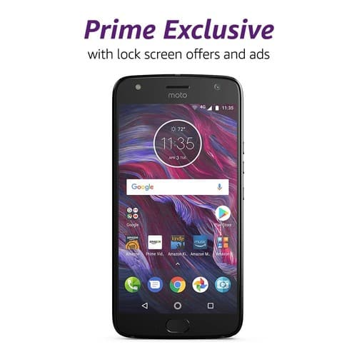 Again, Moto X4 - with Amazon Alexa is $279.99 – 32 GB - Unlocked – Sterling Blue OR Super Black colors