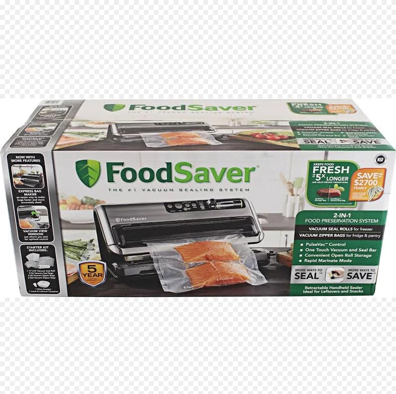 Costco Members via Goole Express App: FoodSaver FM5480 2-in-1 Food Preservation System (Vacuum Sealer) : 79.99 + Tax