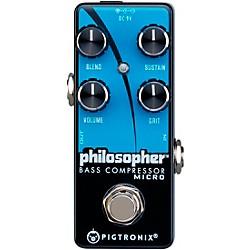 Pigtronix Philosopher Bass Compressor Pedal $59
