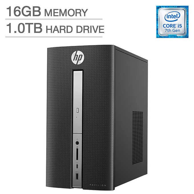 HP Pavilion 570-p017c Desktop - Intel Core i5 - 2GB Graphics $499.99