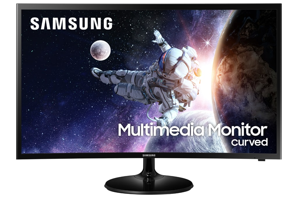 """Samsung 32"""" Curved 1920x1080 HDMI 60hz 4ms FHD LCD Monitor - LC32F39MFUNXZA (Speakers Included) $150"""