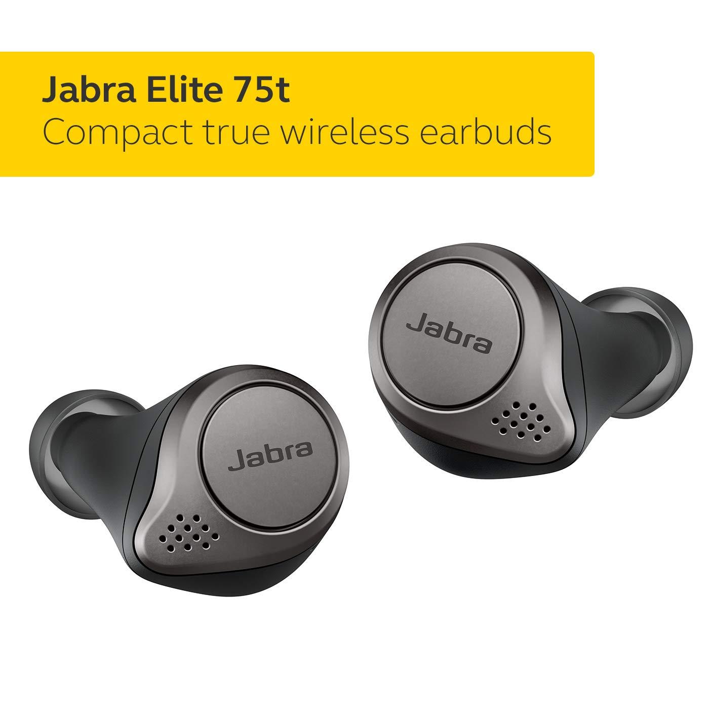 Jabra Elite 75t True Wireless Bluetooth Earbuds $183.25