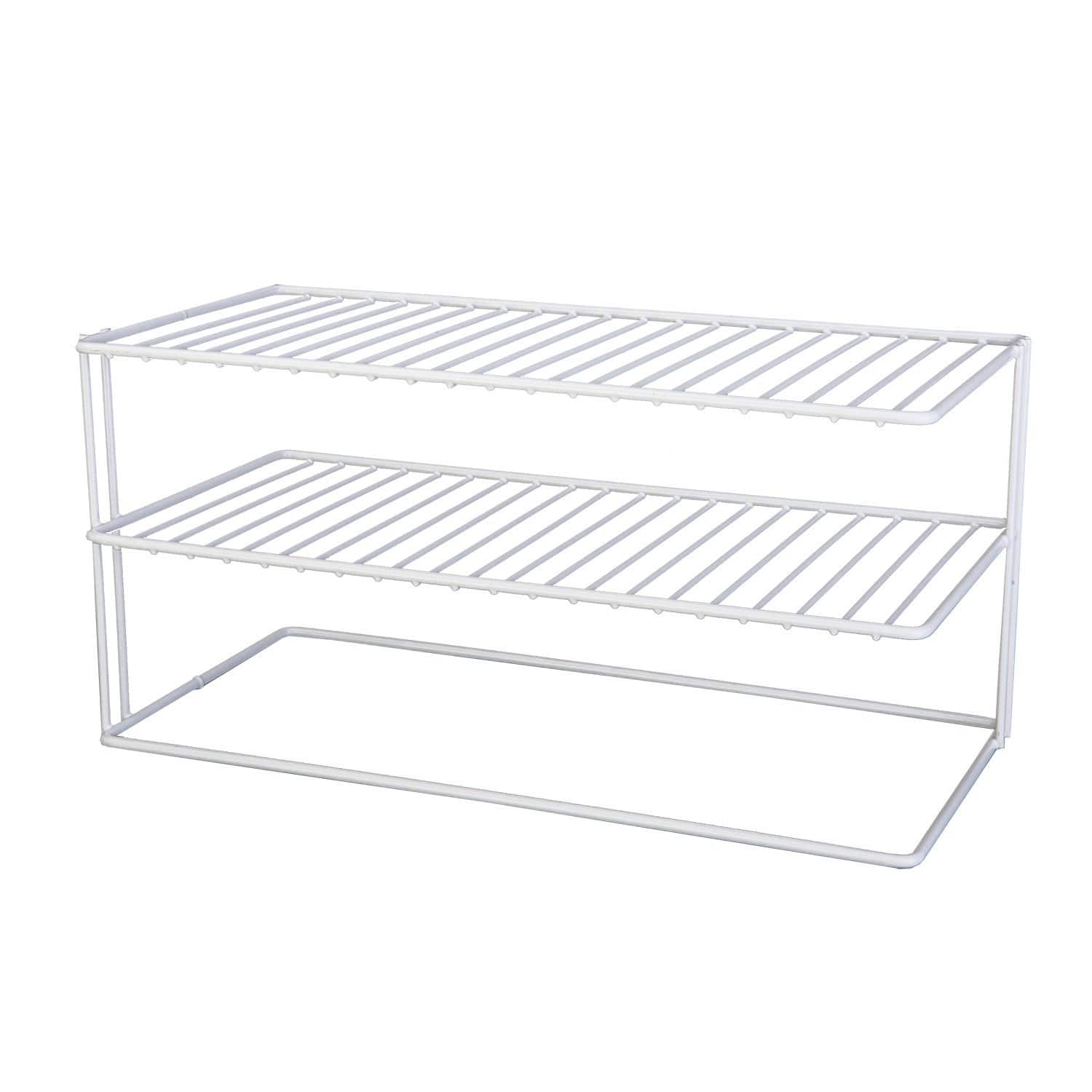 Add-on: Grayline Panacea 40126, Large Two Shelf Organizer, White $6.15