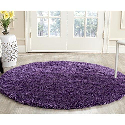 Safavieh Purple Round Area Rug (3' Diameter) $26.59