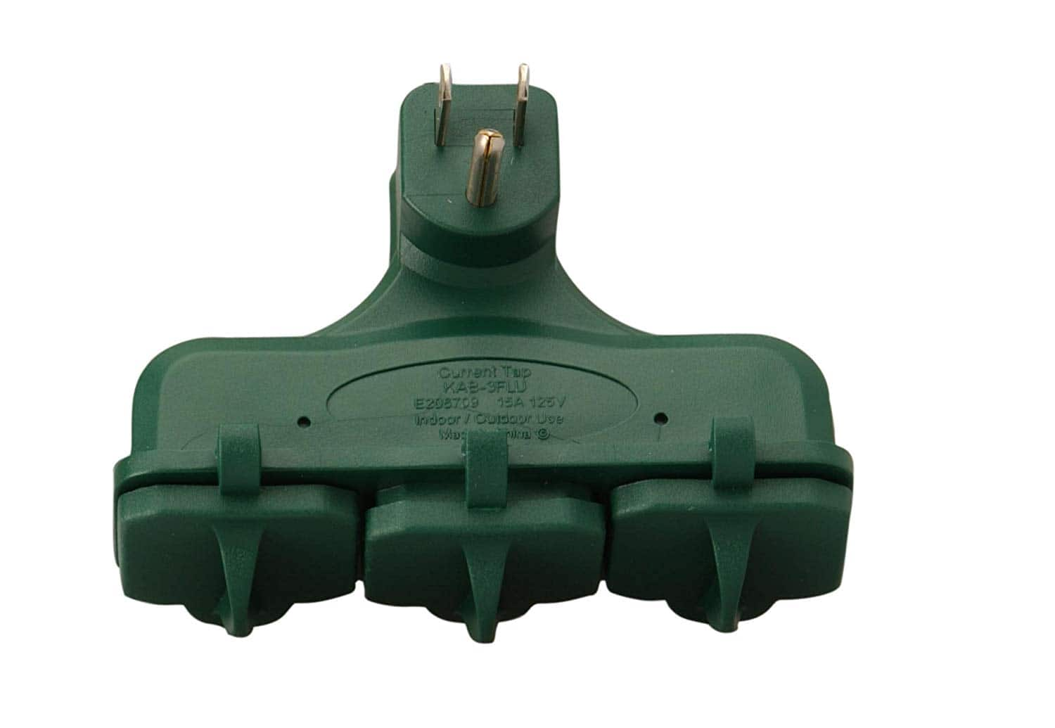Woods 3-Outlet Adapter For Outdoors Or Indoors $4.09