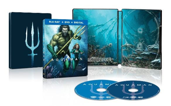 Best Buy - Pre-Order Aquaman steelbook and get a free