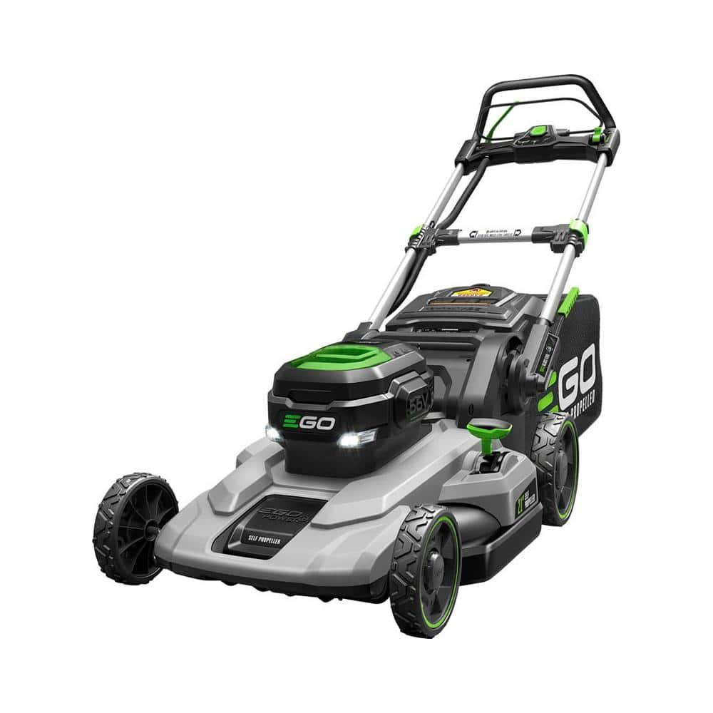 YMMV: display model EGO 21 in. 56-Volt Lithium-ion Cordless Walk Behind Self Propelled Mower Kit - 7.5 Ah Battery/Charger Included $399.99
