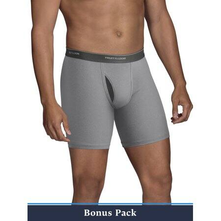 Men's boxer briefs 10 for $15 Fruit of the Loom CoolZone Fly