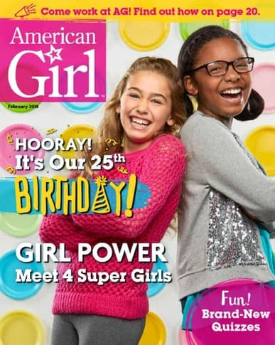 "American Girl (Use Coupon Code ""99496"" at checkout) $14.95"