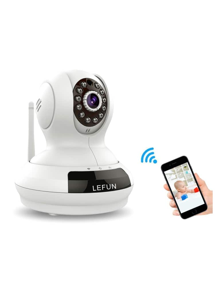 720p Wireless IP Camera With Night Vision Motion Detection 2 Way Audio for Baby Monitor $29.99+FS