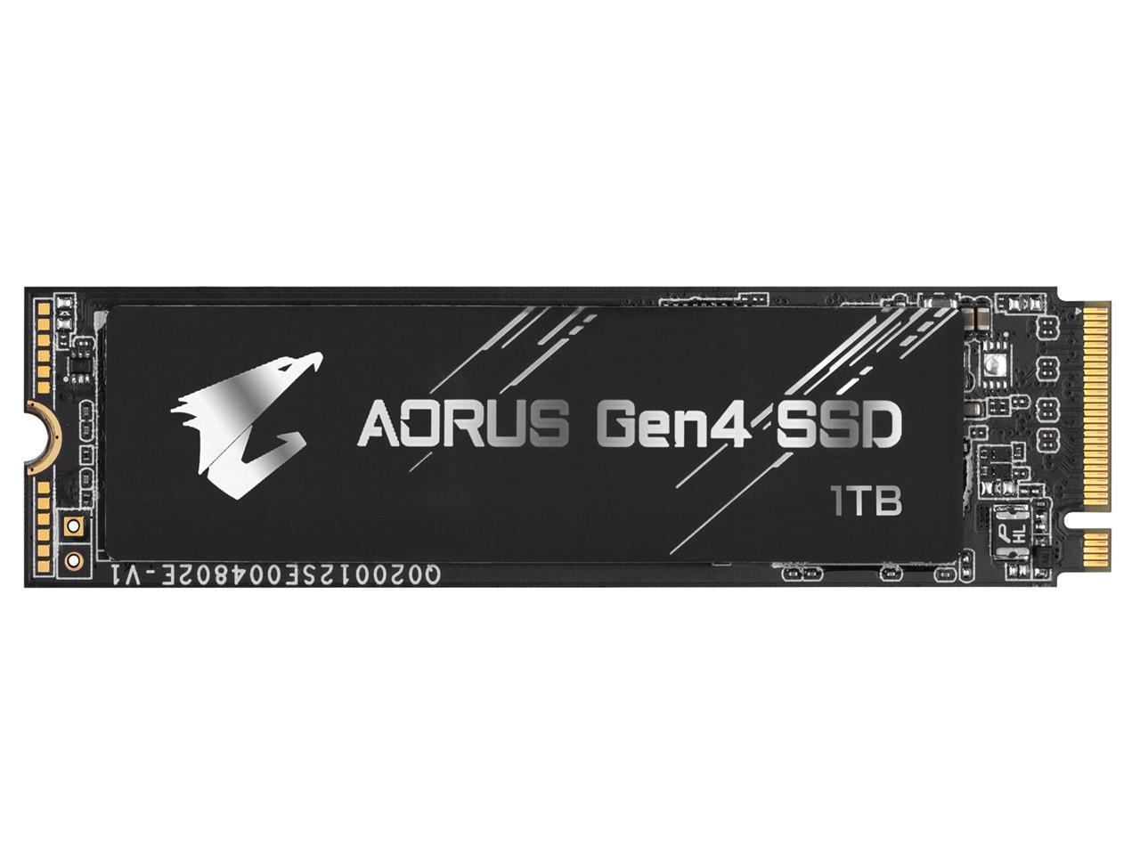 GIGABYTE AORUS Gen4 M.2 NVMe 1TB SSD PCI-Express 4.0 x4 $160