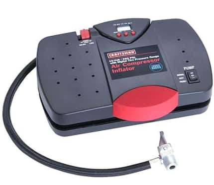 "Craftsman 12V Portable Inflator w/ Digital Tire Pressure Gauge - $16.99 ""FREE Store Pickup"""