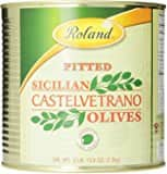 Roland Sicilian Castelvetrano Olives, Whole, 52.9 oz Can - $8.91 - Amazon S&S