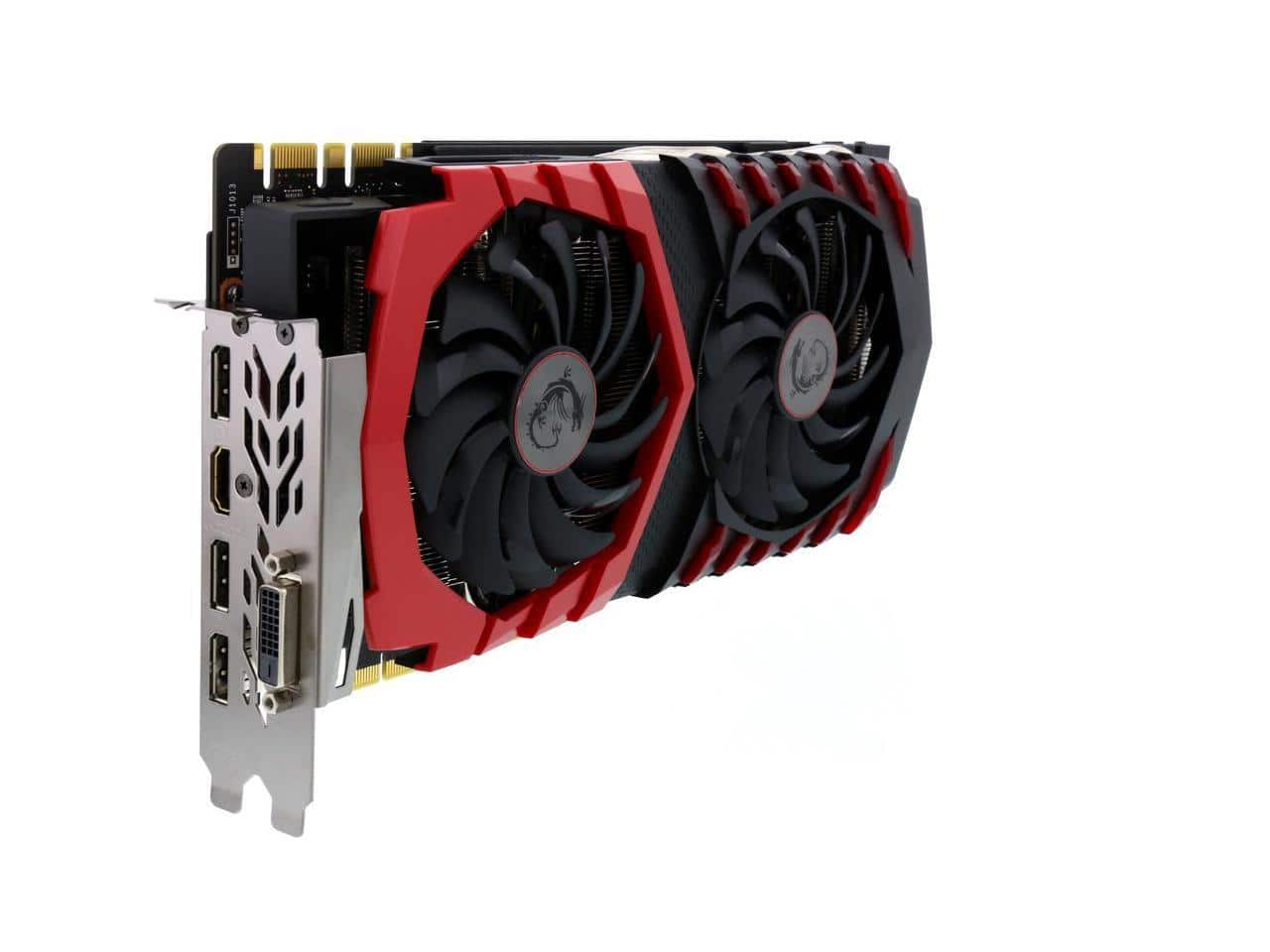 MSI GeForce GTX 1080 DirectX 12 GTX 1080 GAMING 8G 8GB $650-   OUT OF STOCK