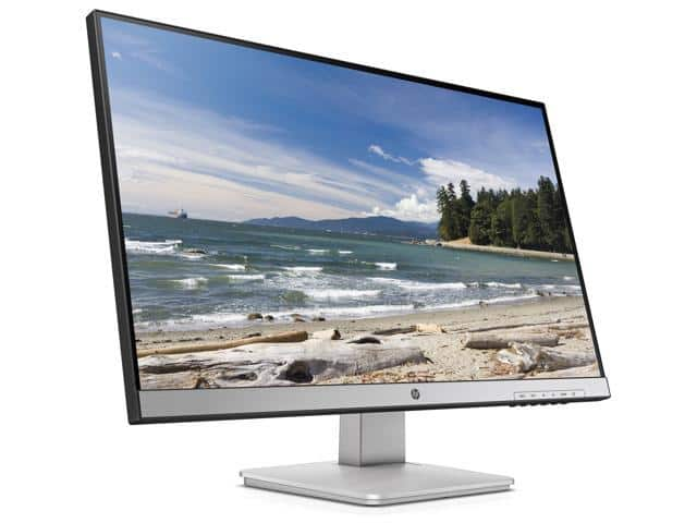 "Refurbished: HP 27q Black/Silver 27"" 2560 x 1440 (2K) 60 Hz - $139.99"