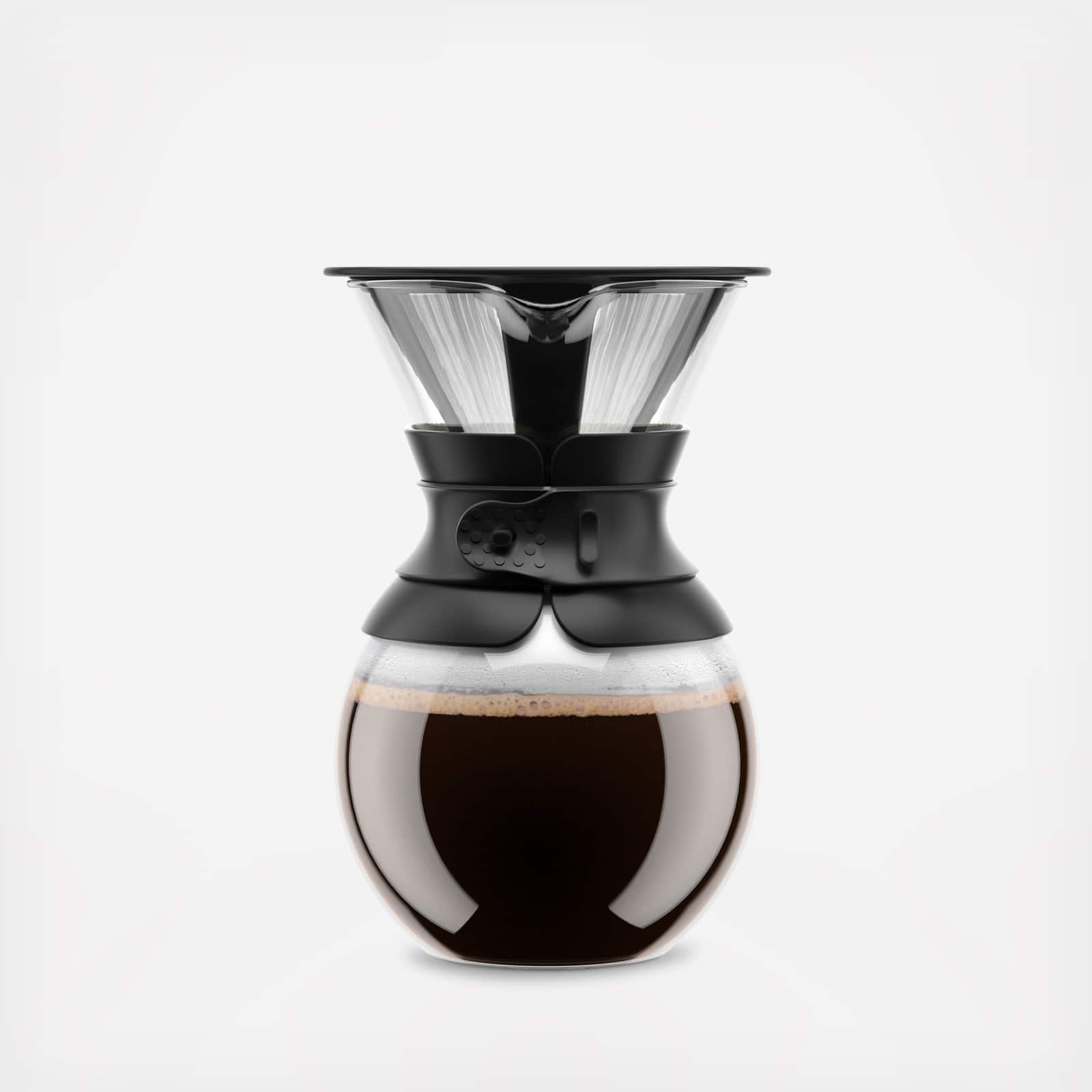 34oz Bodum Pour-Over Coffeemaker Rubber or Cork band 20 dollars or less $19.99