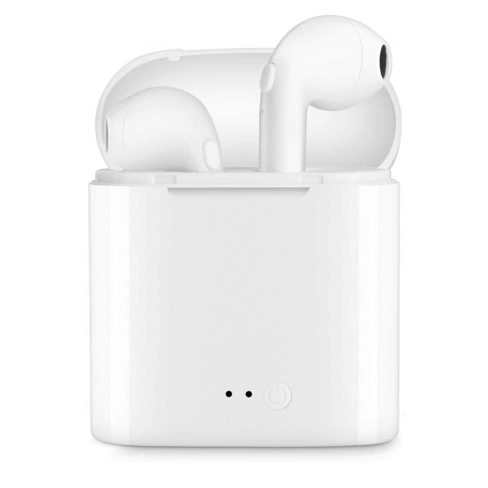 Woot: Wireless In-Ear Headphones with Charging Case. Only White color left. Free shipping with Amazon Prime. $19.99