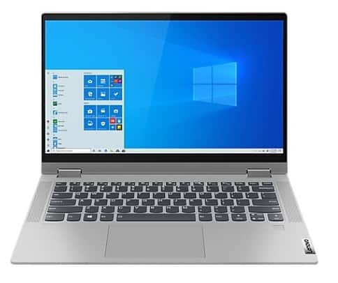Lenovo Flex 5 14IIL05 2-in-1 Notebook, Intel i5, 16GB Memory, 512GB SSD, Windows 10 (81X1002TUS) $530