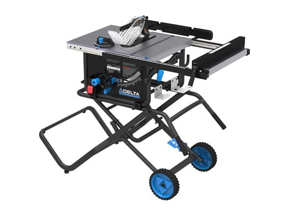 Delta Power Tools 36-6022 Portable Jobsite Table Saw with Stand $299