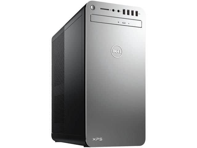 30% OFF and free game on DELL Desktop Computer XPS XPS8920-7581SLV-PUS Intel Core i7 7th Gen 7700K (4.20 GHz) 16 GB DDR4 2 TB HDD 32 GB SSD GeForce GTX 1070 64-Bit $1299