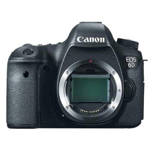 Canon EOS 6D Digital SLR Camera Body 999$ , Includes free accessory worth 78$ and 4% rewards  $999