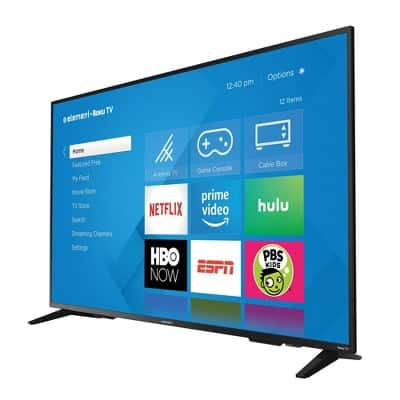 "Element 65"" 4K Roku Smart TV $279.97"
