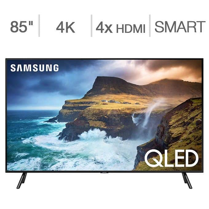 "Costco MEMBER ONLY DEAL: Samsung 85"" Class - Q7D Series - 4K UHD QLED LCD TV $2,699.99"