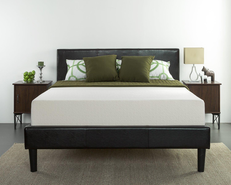 zinus memory foam 10 inch green tea mattress king size 209. Black Bedroom Furniture Sets. Home Design Ideas