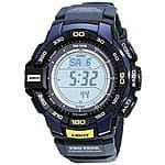 Casio Men's PRG-270-2CR PRO TREK Aviator Blue Watch $99.64 + tax w/ FS at Amazon.com