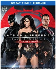 Batman v Superman: Dawn of Justice Ultimate Edition Blu-ray $14.99 @ Amazon