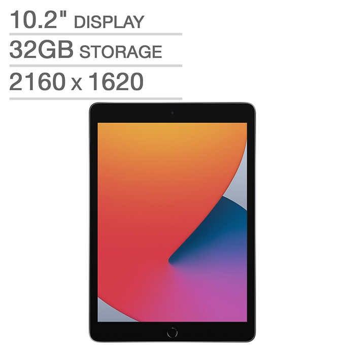 New 8th Gen Apple iPad 32GB - Space Gray $279.99 - Costco