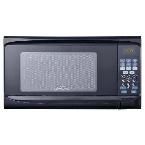 Sunbeam 0.7 Cu. Ft. Digital Microwave Oven - Black $34.99