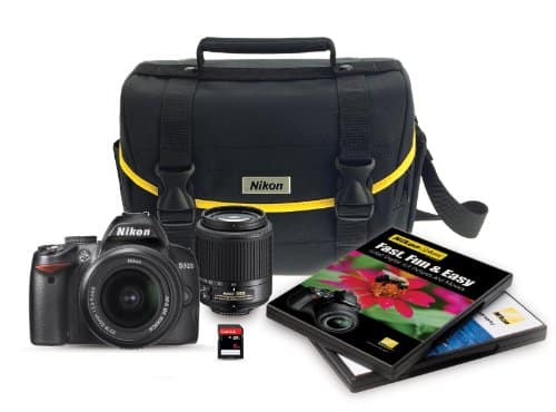 Nikon D3000 DSLR kit with 18-55mm & 55-200mm Lens YMMV $109