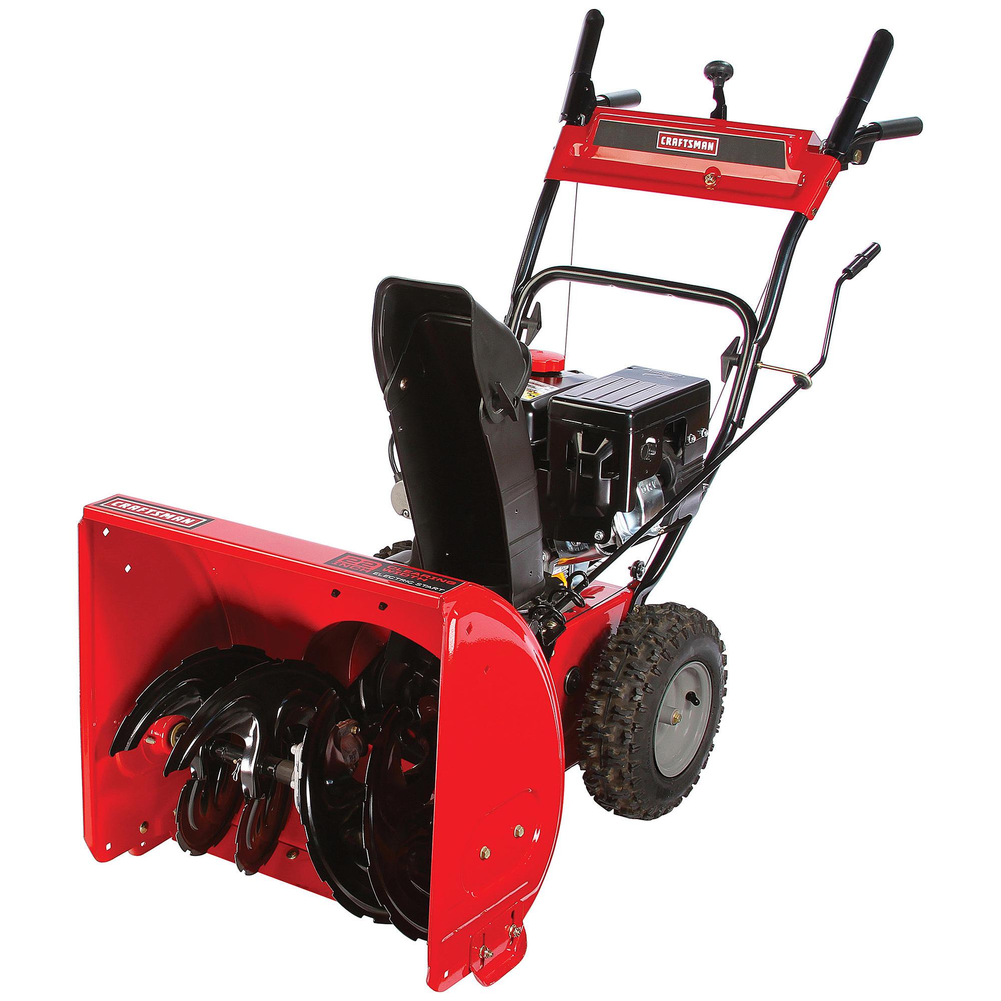 Craftsman 88433 22 inch 179cc Dual-Stage Gas Snowblower $399 (BlackFriday Price now!)